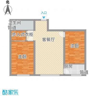 名门花园名门花园户型图2室2厅1户型10室