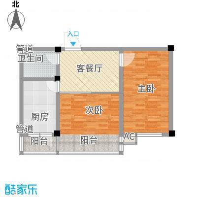 瑞阳广场84.73㎡瑞阳广场户型图2室1厅户型10室
