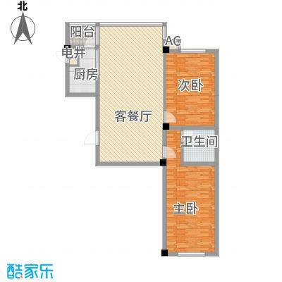 瑞阳广场120.22㎡瑞阳广场户型图2室1厅户型10室