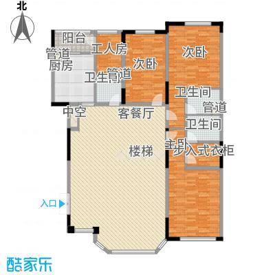 万豪汇景新城190.75㎡万豪汇景新城户型图3室2厅3卫户型10室