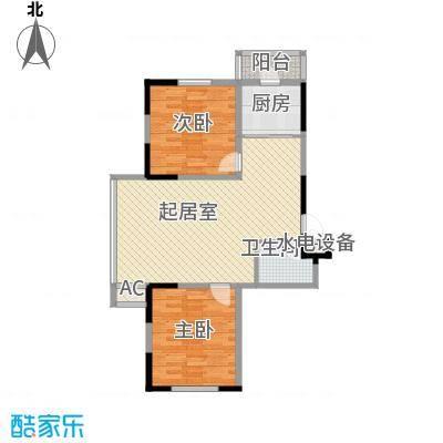 爵士A版90.09㎡爵士A版户型图2室2厅1卫户型10室