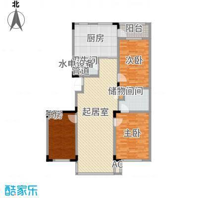 爵士A版135.03㎡爵士A版户型图3室2厅2卫户型10室