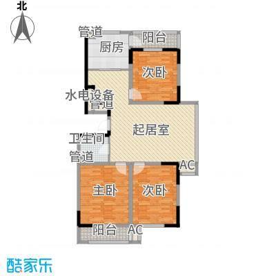 爵士A版125.66㎡爵士A版户型图3室2厅1卫户型10室