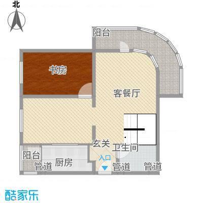 亚泰鼎盛国际 4室 户型图