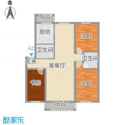 中毫鸿泰公馆户型图2室1厅1 2室1厅1卫1厨