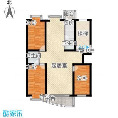 东南阳光户型图3室2厅2卫1厨