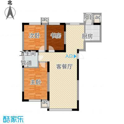 高格蓝湾122.71㎡高格蓝湾户型图08新户型图(已售完)3室2厅1卫户型3室2厅1卫