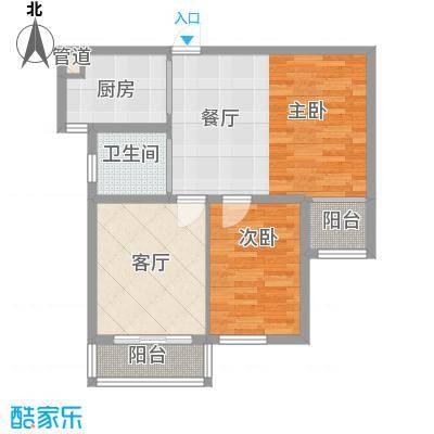 高格蓝湾76.00㎡高格蓝湾户型图E户型图2室2厅1卫户型2室2厅1卫