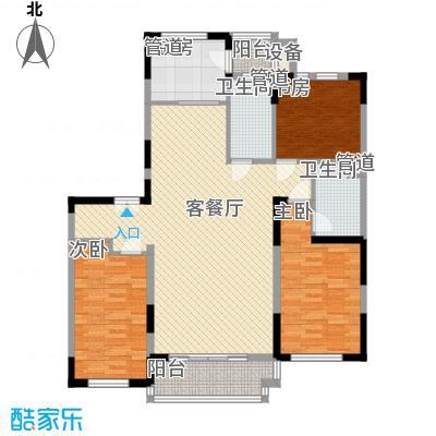 亚泰樱花苑140.00㎡31号楼03单元标准户型3室2厅2卫