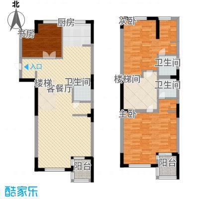 亚泰樱花苑154.00㎡10号楼04、05单元标准户型3室2厅3卫
