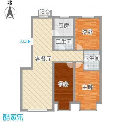 武夷嘉园118.70㎡武夷嘉园118.70㎡3室2厅2卫户型3室2厅2卫