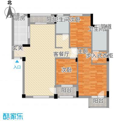 万科上东区万科上东区户型图3室2厅2卫1厨户型10室