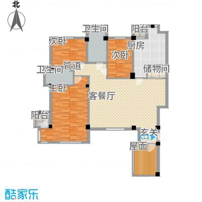 万科上东区146.46㎡万科上东区户型图3室2厅2卫户型10室