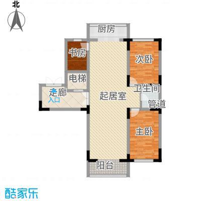 长江花园125.00㎡长江花园户型图3室2厅1卫户型10室