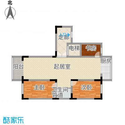 长江花园122.16㎡长江花园户型图3室2厅1卫户型10室
