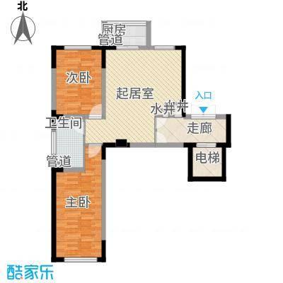 长江花园78.04㎡长江花园户型图2室1厅1卫户型10室