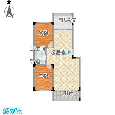 长江花园107.54㎡长江花园户型图2室2厅1卫户型10室