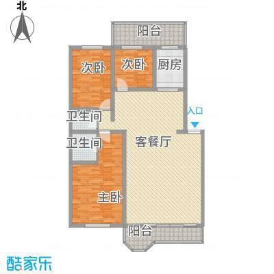郁金花园143.28㎡郁金花园户型图3室2厅2卫1厨户型10室
