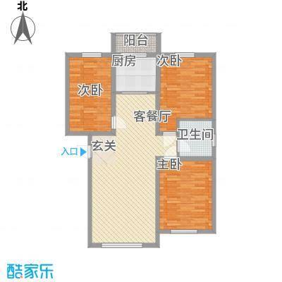 浦东明珠105.95㎡浦东明珠户型图3室2厅1卫户型10室