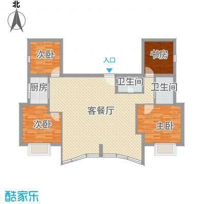 武夷天琴湾125.32㎡武夷天琴湾户型10室