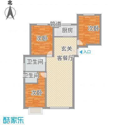 天地十二坊天地十二坊3室2厅1户型3室2厅