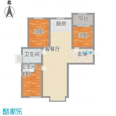 天地十二坊天地十二坊3室2厅2户型3室2厅