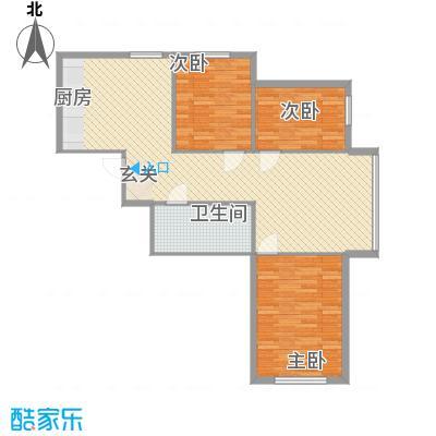 怡景嘉园109.73㎡怡景嘉园户型图3室2厅1卫户型10室