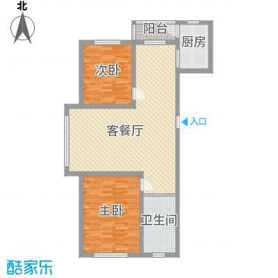 浦东新城111.24㎡浦东新城户型图Q户型图2室2厅1卫户型2室2厅1卫