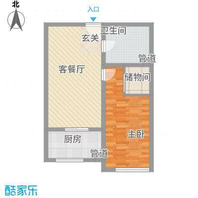 天地十二坊天地十二坊2室1厅1户型2室1厅