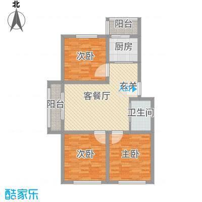 锦城家园锦城家园3室1厅1户型3室1厅