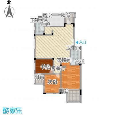 万科西街庭院135.79㎡万科西街庭院135.79㎡10室户型10室