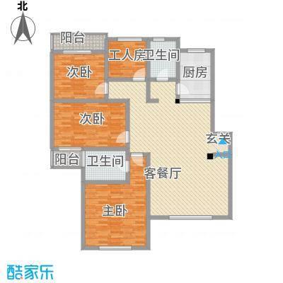 新世纪安居苑新世纪安居苑4室2厅户型4室2厅
