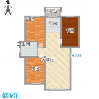 万龙第五城101.65㎡万龙第五城户型图户型图B3室2厅1卫户型3室2厅1卫