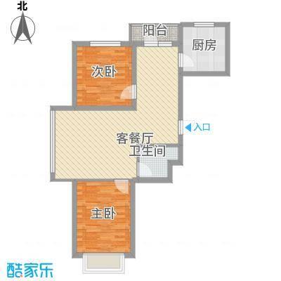 吴中印象91.01㎡1A户型2室2厅1卫