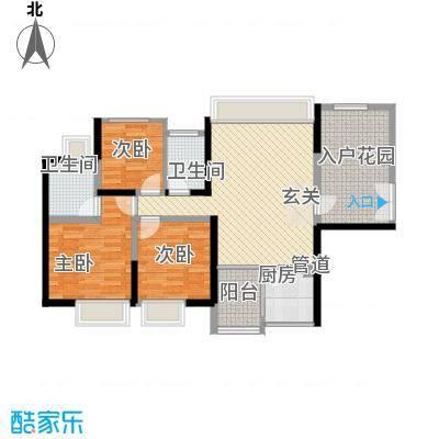 火车站湘湖宿舍3室2厅户型3室2厅2卫1厨