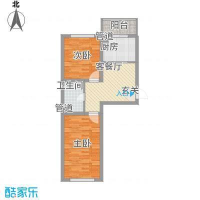 北城之星67.00㎡北城之星户型图2室1厅1卫户型10室