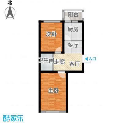 望博园67.92㎡多层户型2室1厅1卫1厨