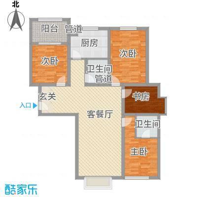 四环花园四环花园户型图4室2厅14室2厅1卫1厨户型4室2厅1卫1厨