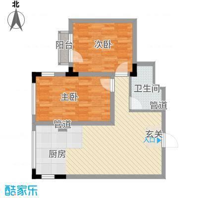 亿洲百旺郦城78.84㎡亿洲百旺郦城户型10室
