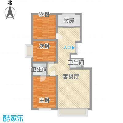 万达小区万达小区户型图3室2厅13室2厅1卫1厨户型3室2厅1卫1厨