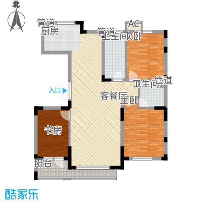 尊誉东方130.33㎡尊誉东方户型图一期户型图3室2厅2卫户型3室2厅2卫