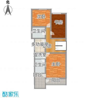 世纪嘉园3室1厅户型3室1厅1卫1厨