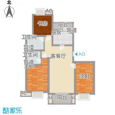 小上海新城三期123.00㎡小上海新城三期户型图P1户型3室2厅2卫1厨户型3室2厅2卫1厨