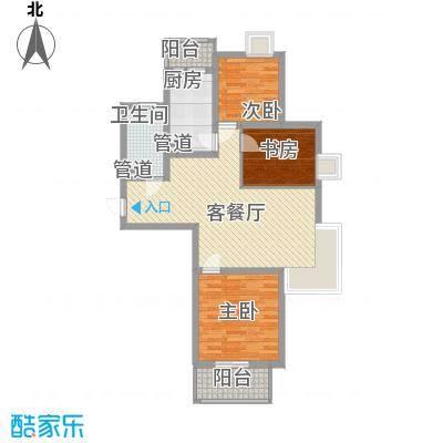 小上海新城三期104.00㎡小上海新城三期户型图D1户型3室2厅1卫1厨户型3室2厅1卫1厨