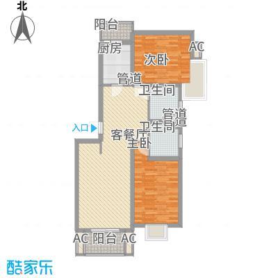 小上海新城三期108.00㎡小上海新城三期户型图N1户型2室2厅2卫1厨户型2室2厅2卫1厨