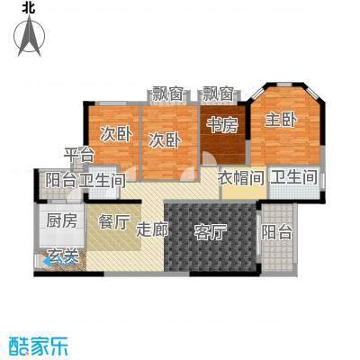 中粮海景壹号 3室 户型图