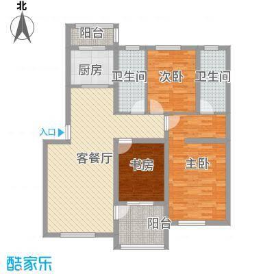 青石花语116.00㎡青石花语户型图4号楼P户型图3室3厅2卫1厨户型3室3厅2卫1厨
