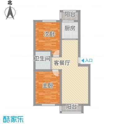 青石花语83.00㎡青石花语户型图8号楼T户型图2室2厅1卫1厨户型2室2厅1卫1厨