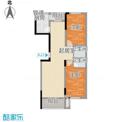爵士A版103.10㎡爵士A版户型图2室2厅2卫户型10室
