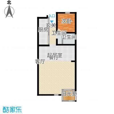 朝阳小区户型图1室1厅 1室1厅1卫1厨